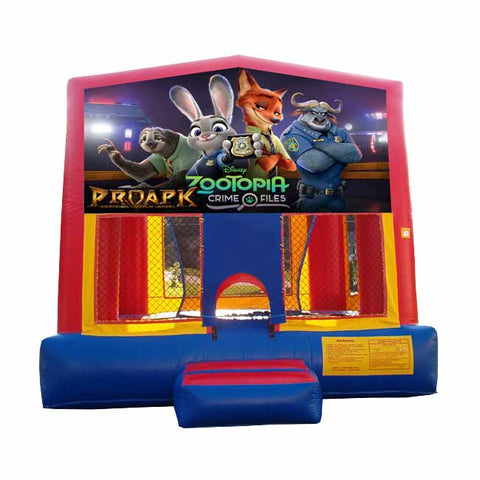 Zootopia Bounce House