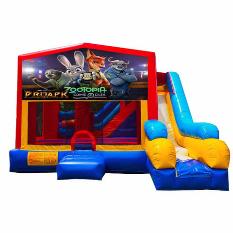 Zootopia Bounce House With Slide