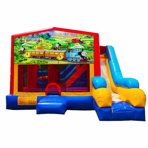 Thomas Train Bounce House With Slide