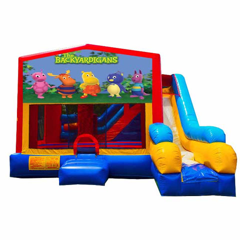 The Backyardigans Bounce House With Slide