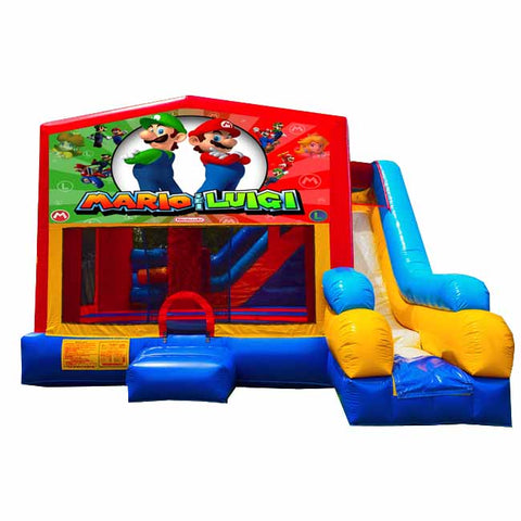 Super Mario Bounce House With Slide