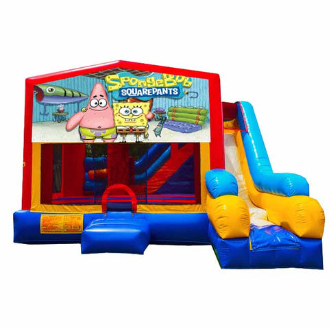 Spongebob Bounce House With Slide