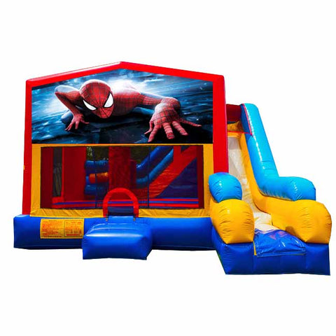 Spiderman Bounce House With Slide