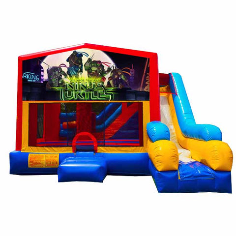 Ninja Turtles Bounce House With Slide