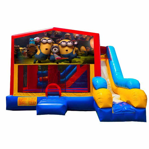 Minions Bounce House With Slide