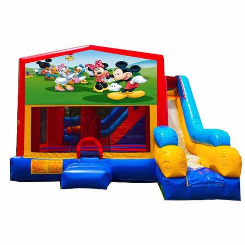 Mickey and Friends Bounce House With Slide