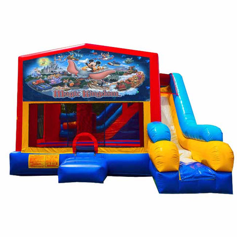 Magical Kingdom Bounce House With Slide