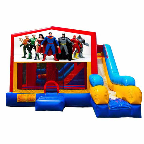 Justice League Bounce House With Slide