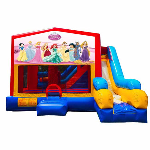 Princesses Bounce House With Slide