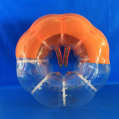 Half Orange Inflatable Body Bumper Ball