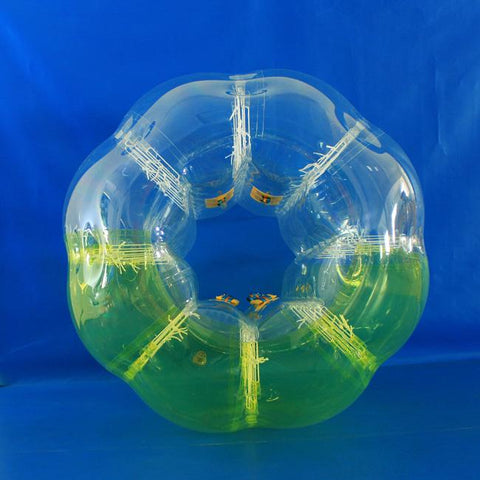 Half Yellow Bubble Ball Extreme Soccer
