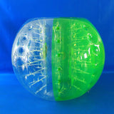 Half Green Inflatable Bubble Ball
