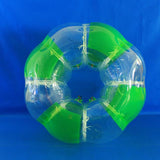 Striped Green Soccer Bubble Ball