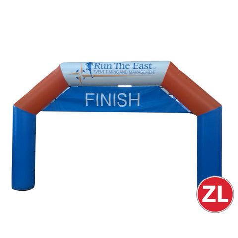 Finish Line Blow Up Arch