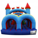 60ft Inflatable Castle Obstacle Course