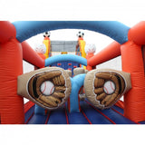 60ft Inflatable Sports Obstacle Course