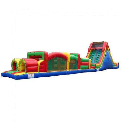 77ft Obstacle Course With Slide