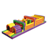Inflatable Obstacle Course Run