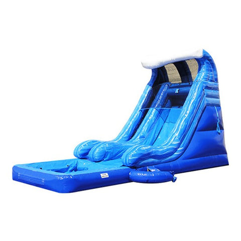 Tidal Wave Water Slide With Pool