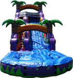Inflatable Water Slide And Pool