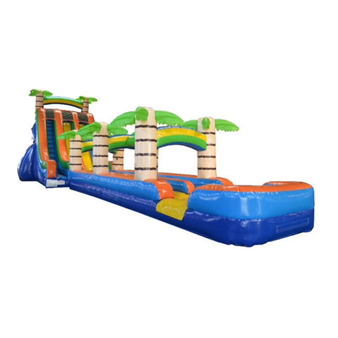 Long Water Slides For Backyard