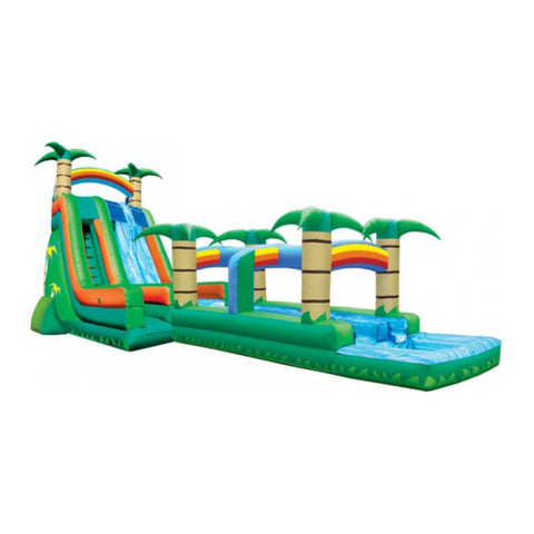 Long Water Slide For Garden