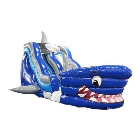 Shark Blow Up Water Slide