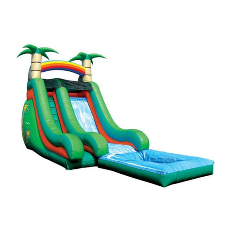 Small Blow Up Water Slide