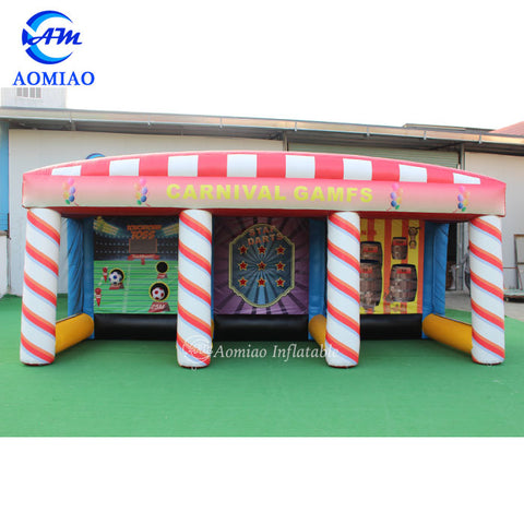 Inflatable carnival games 3 in 1 game AMCN01