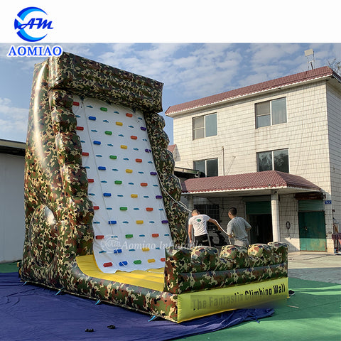 Inflatable Rock Climbing Wall AMCB001