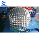 LED Silver Inflatable Dome Tent AMIT0039
