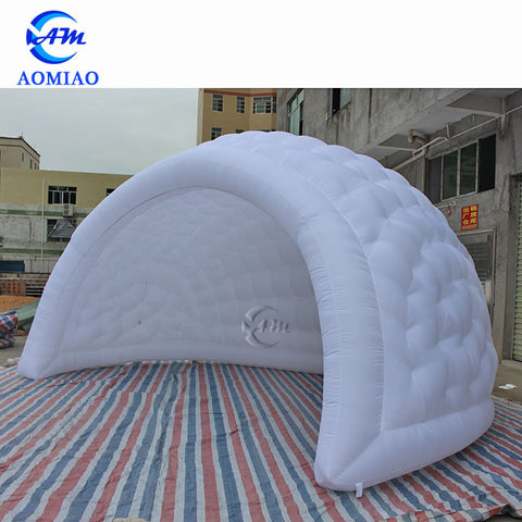 Blow Up Igloo Tent