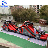 Race Car Inflatable Obstacle Course AMOB20