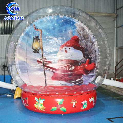 Christmas Theme Inflatable Snow Globe AMSG1-1