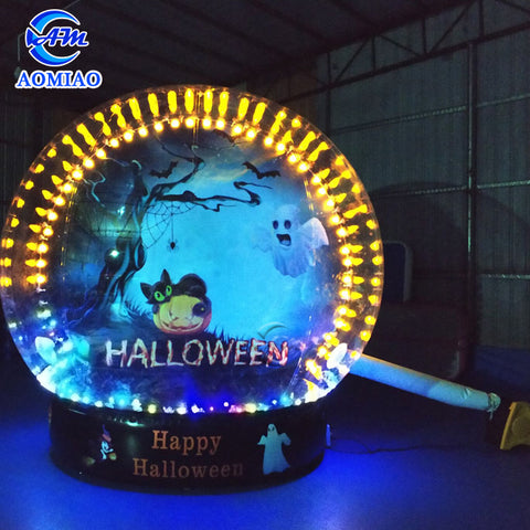 Halloween theme Inflatable Sbow globe