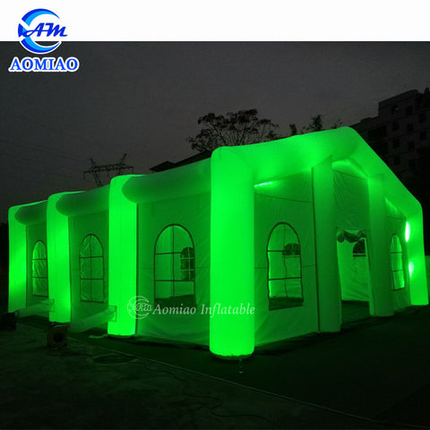 Wedding Party Inflatable LED Tent