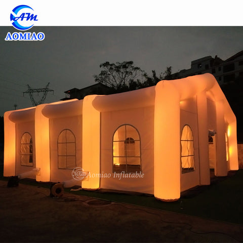 lED Inflatable Wedding Party Tent AMIT0040