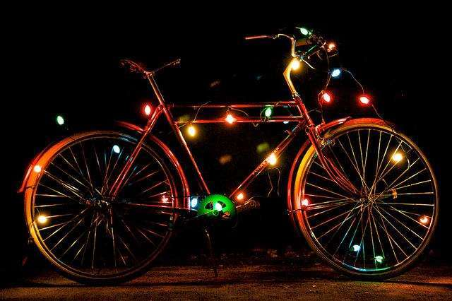 DECEMBER - THE SEASON OF GIVING AND CYCLING!