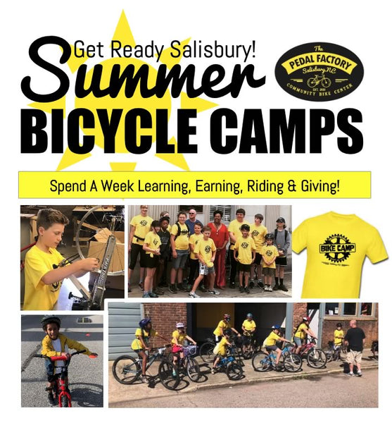 Summer Bicycle Camp 2020 With The Pedal Factory