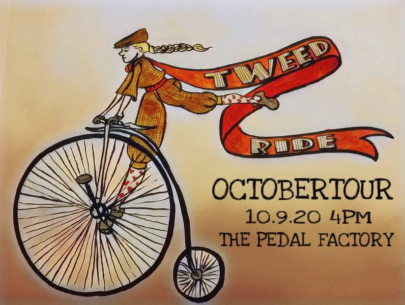 OctoberTour Tweed Ride Coming Up!