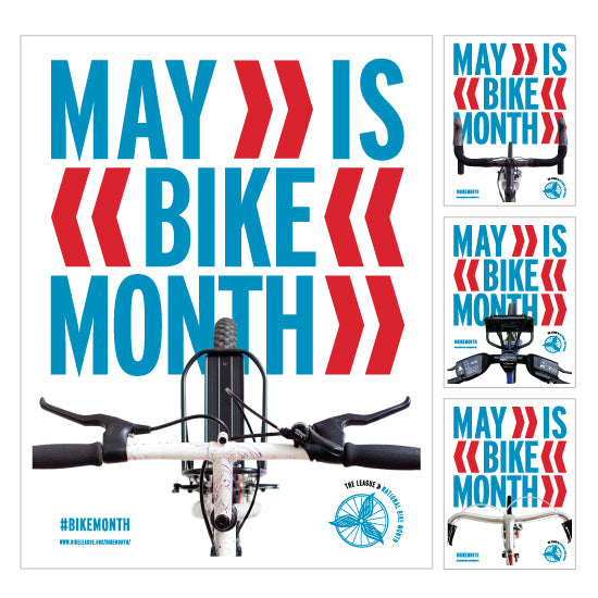 MAY - WHO'S READY FOR BIKE MONTH??!!