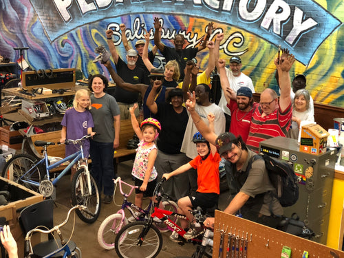 Online Donation To The Pedal Factory