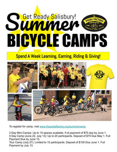 Summer 2020 Mini Bike Camp