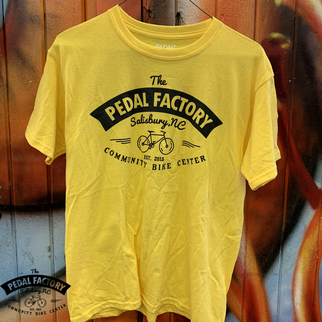 Pedal Factory Logo Kid's 100% Cotton Ride T