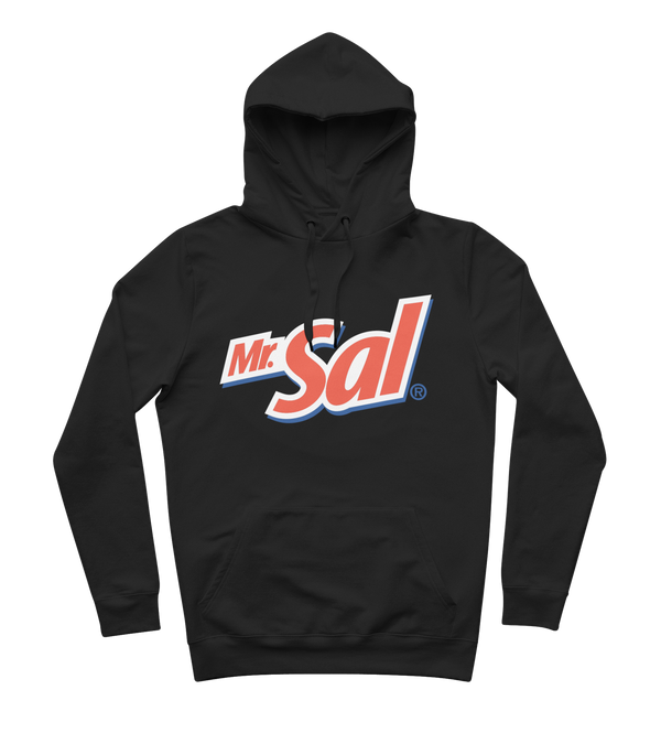 "SWEAT-SHIRT CAPUCHE | ""MONSIEUR SAL"" - Noir"