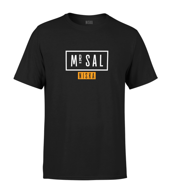 "T-SHIRT | ""MR. SAL TOUR"" - Noir"