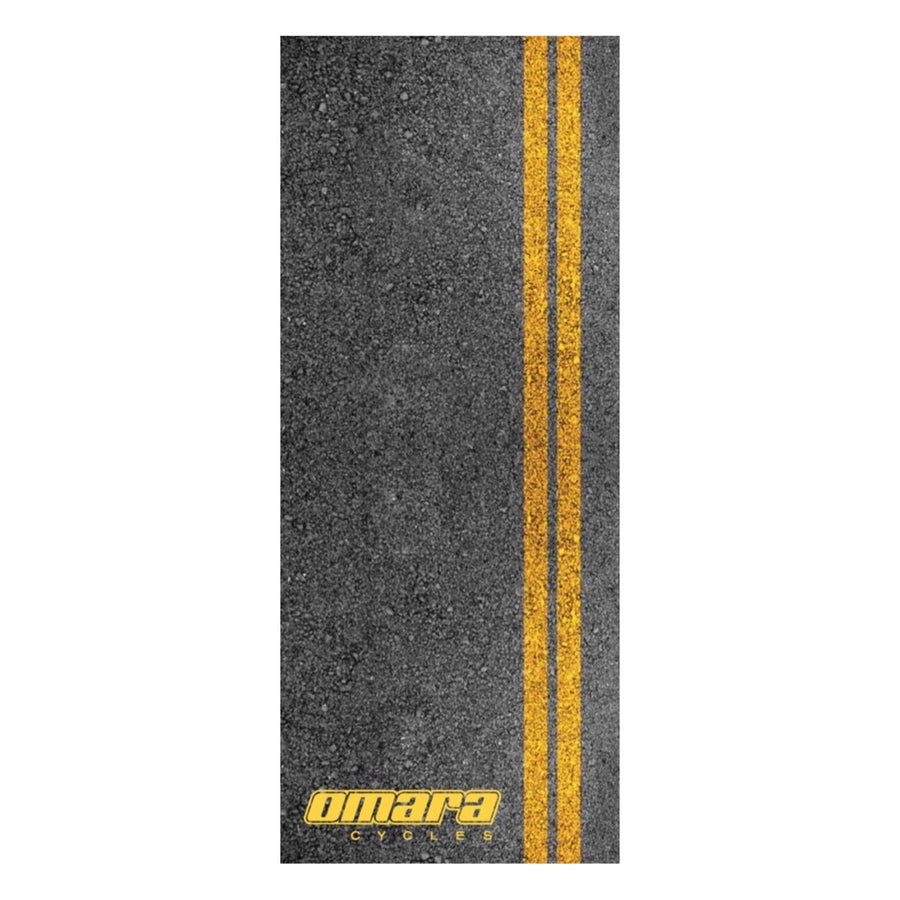 O'MARA YELLOW DOUBLE LINE TRAINER MAT