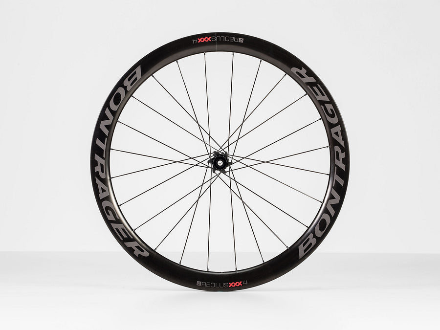 BONTRAGER AEOLOUS XXX 4 TLR DISC CLINCHER ROAD WHEEL (FRONT)