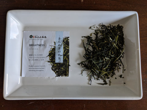 Tea Tisanes Blends- Brightness a sencha green tea