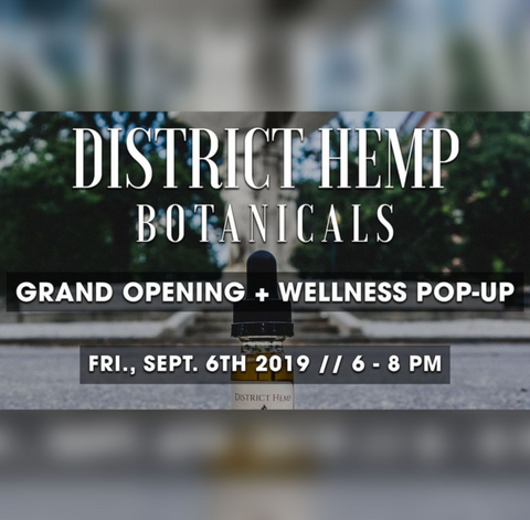 District Hemp Botanicals Dupont Circle Grand Opening!!!!